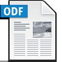 ODF text icon